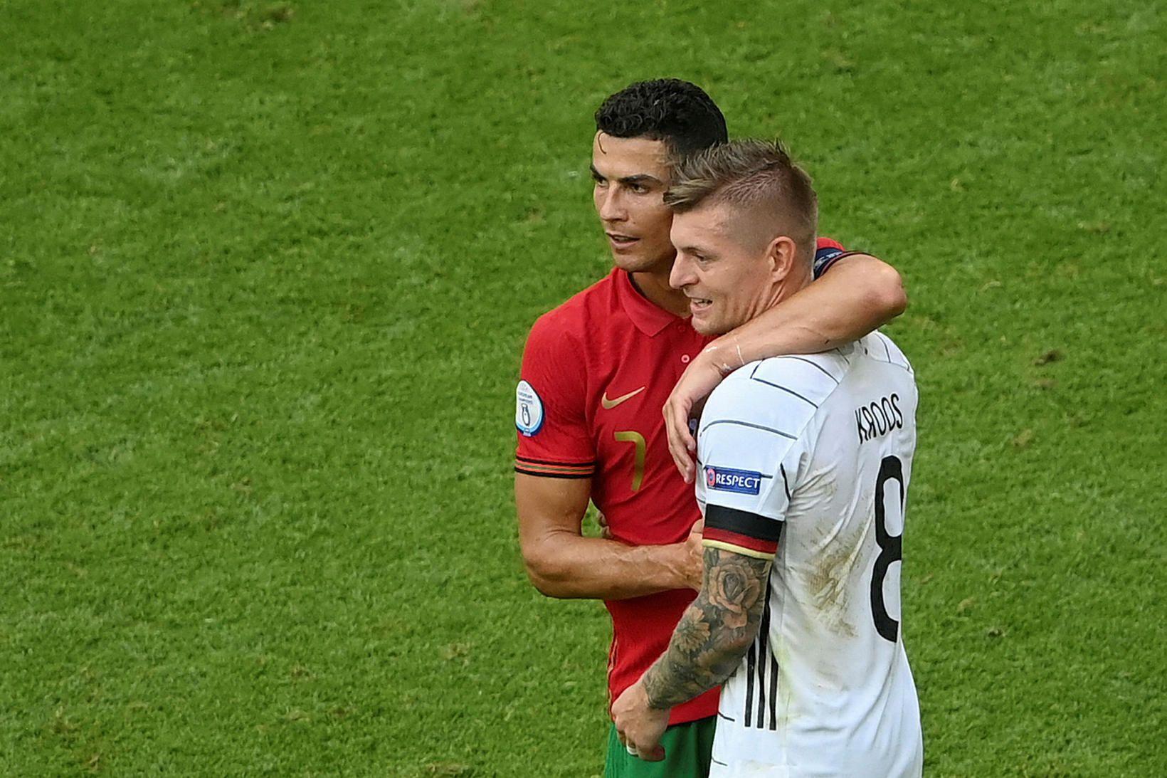 Cristiano Ronaldo og Toni Kroos komast að því í kvöld …
