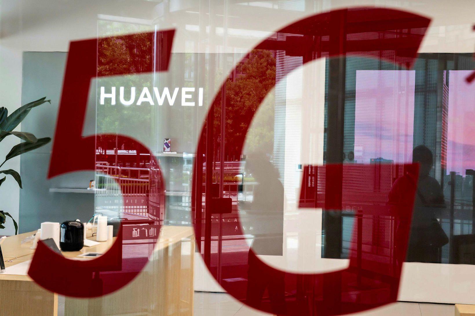 Huawei hefur til dæmis byggt upp 5G net fyrir Nova.