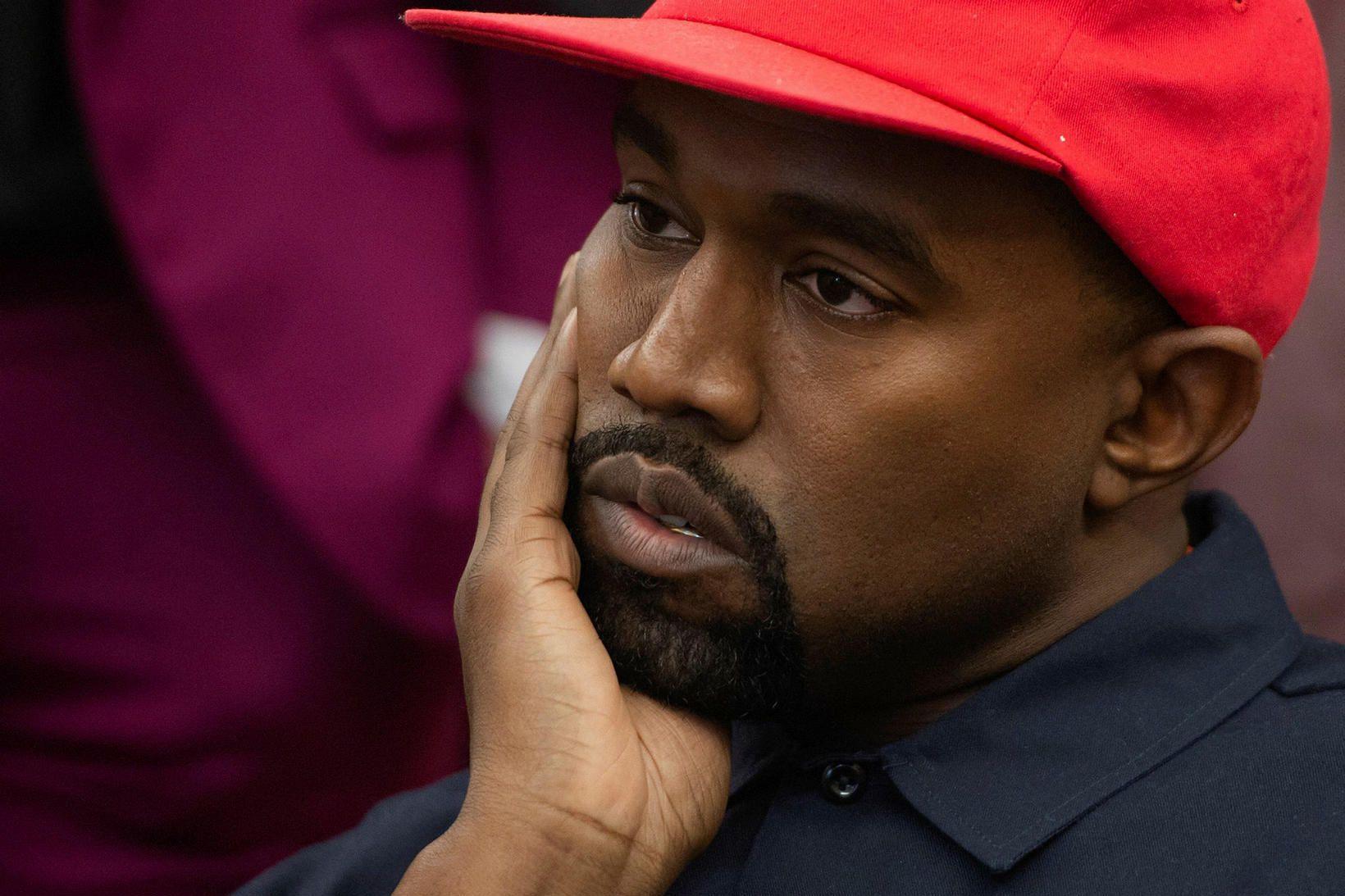 Kanye West vill verða forseti Bandaríkjanna.