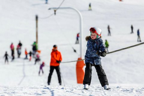 Bláfjöll offers a chair lift and a couple of tow lifts.