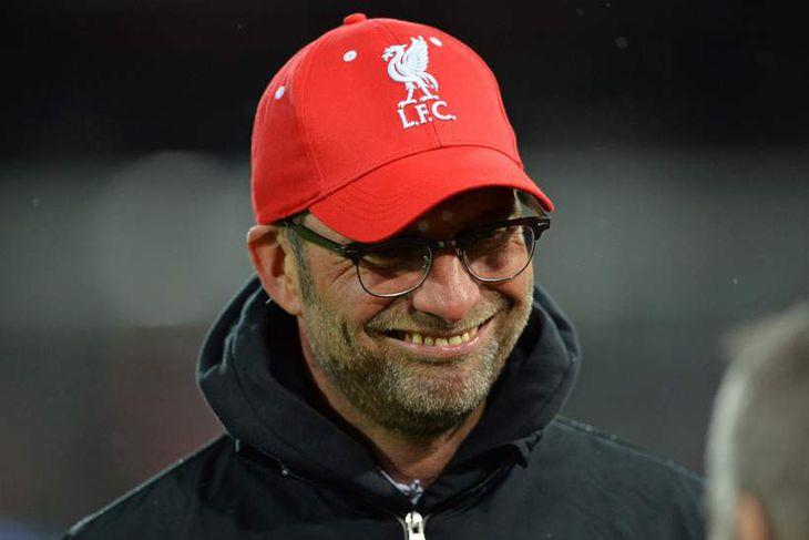 Jürgen Klopp, knattspyrnustjóri Liverpool.
