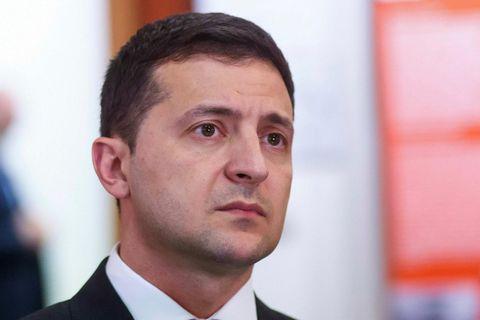 Volodymyr Zelensky, forseti Úkraínu.