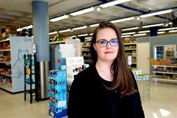 Sæunn Ingibjörg Marinósdóttir framkvæmdastjóri Veganbúðarinnar.