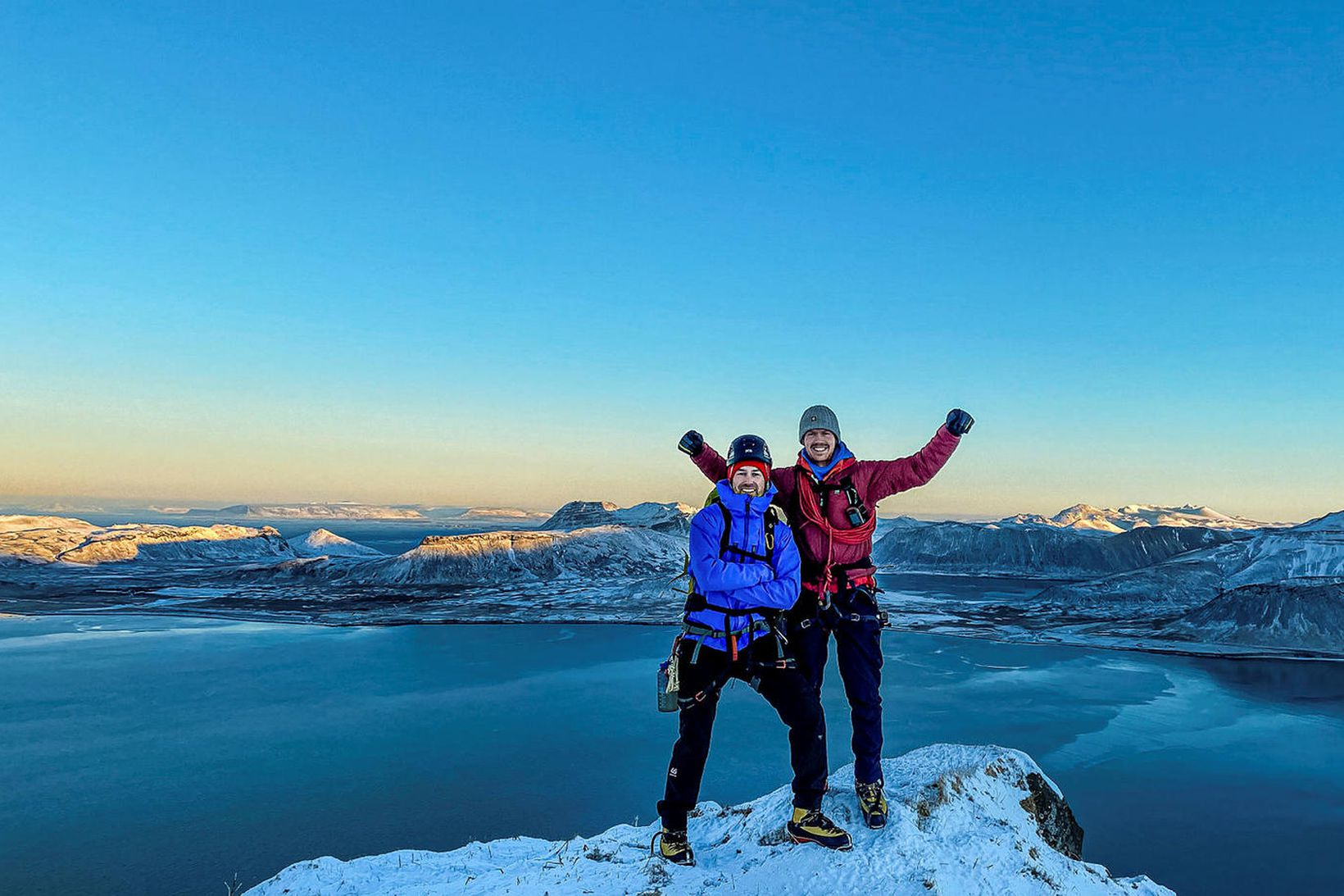 Sigurður Bjarni Sveinsson og Heimir Fannar Hallgrímsson. Myndin er frá …