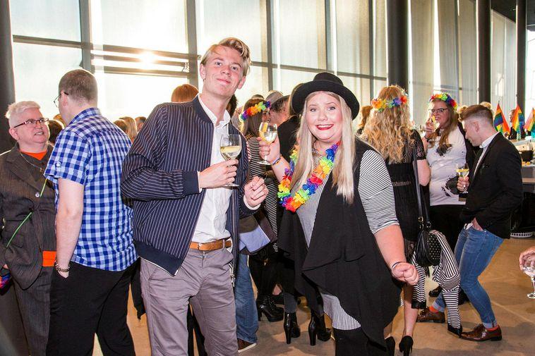 Reykjavik Pride Opening Ceremony 2016