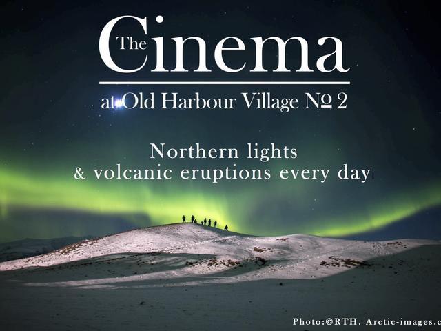 Film shows at THE CINEMA, Old harbour Reykjavik