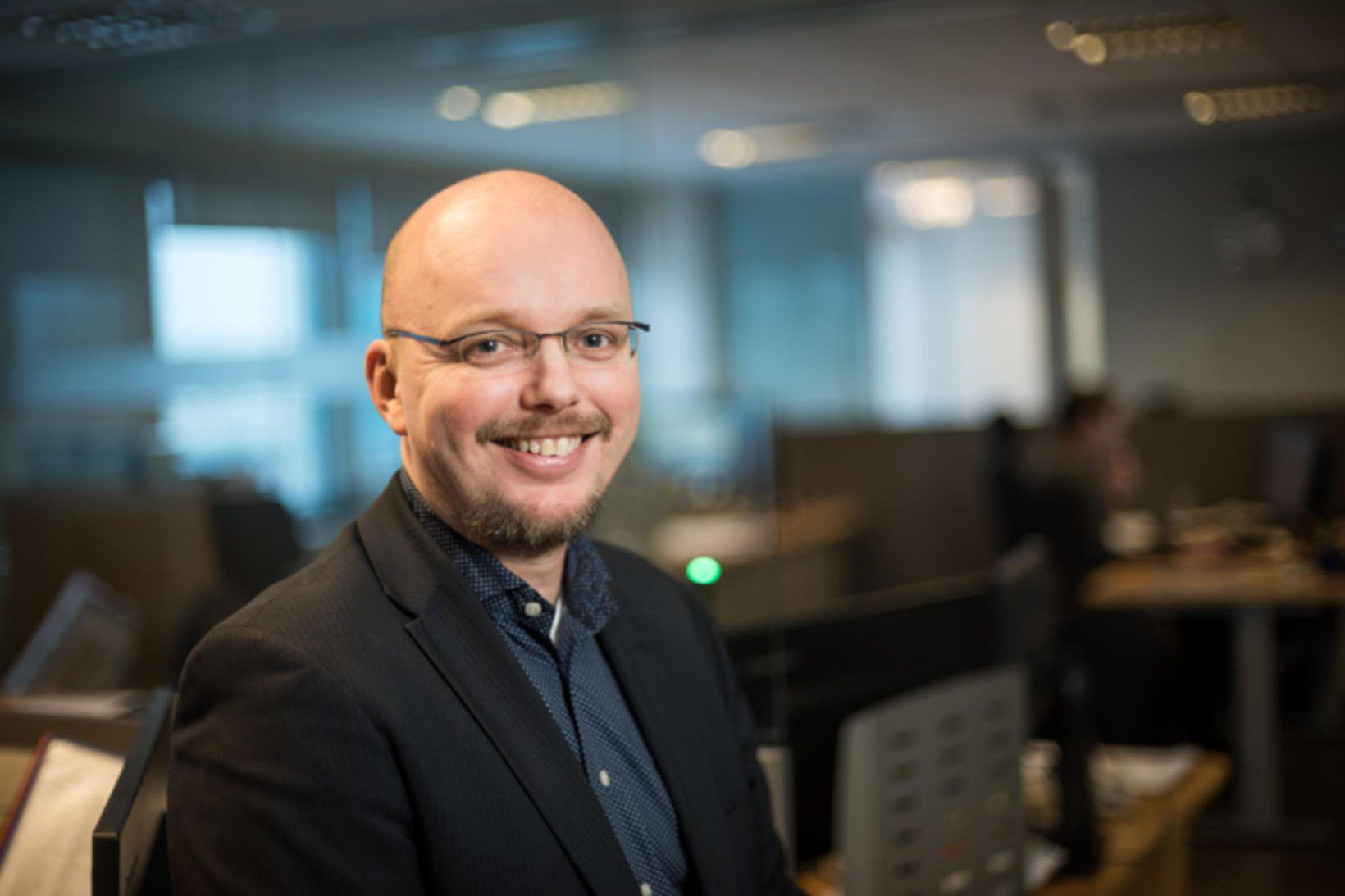 Gunnar Már Sigurfinnsson, framkvæmdastjóri Icelandair Cargo.