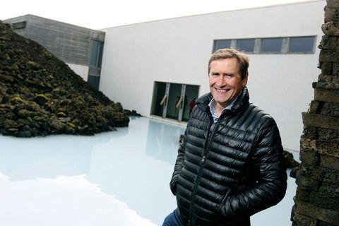 Grímur Sæmundsen forstjóri Bláa lónsins.