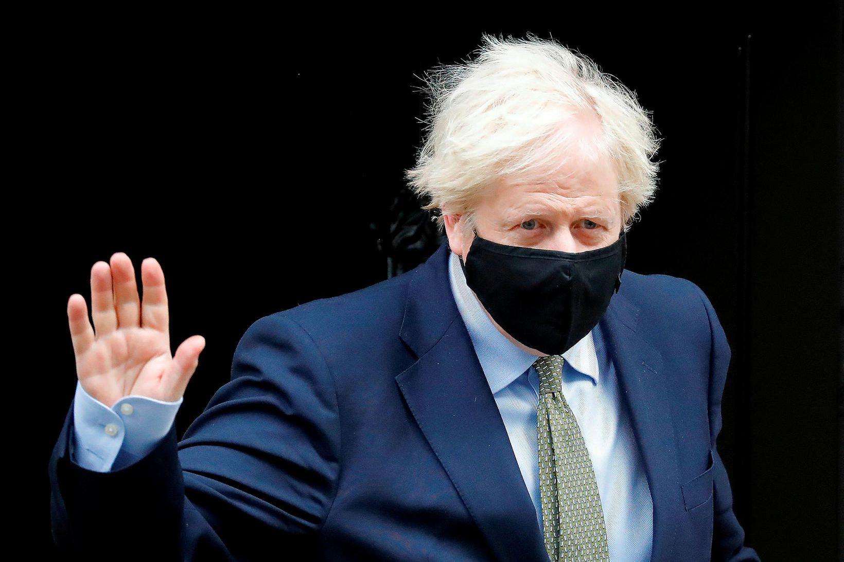 Boris Johnson, forsætisráðherra Breta.