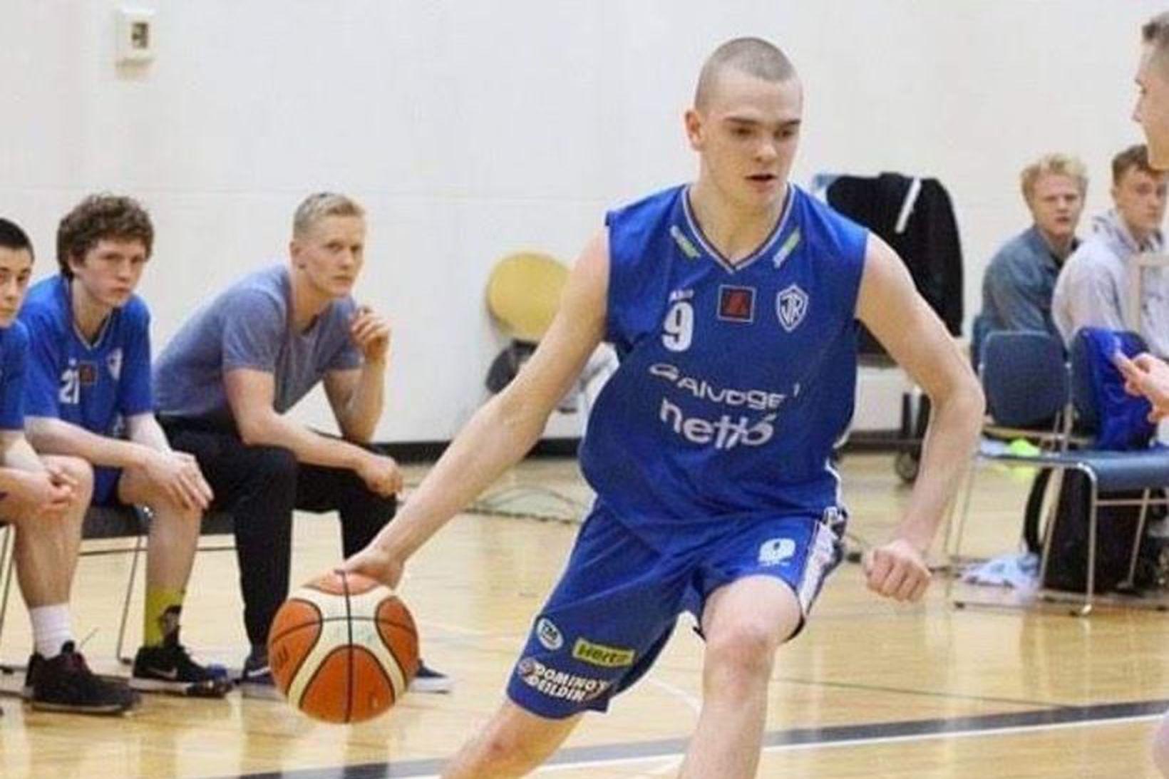 Ólafur Björn Gunnlaugsson í leik með ÍR.