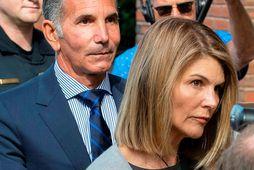 Lori Loughlin og Mossimo Giannulli.
