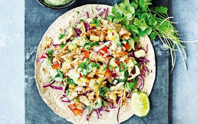 Pulled chicken er það allra heitasta í dag og smakkast alveg svakalega vel.