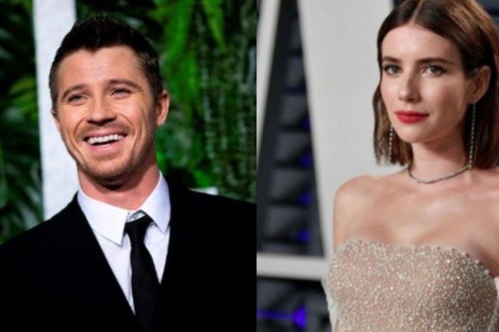 Emma Roberts og Garrett Hedlund eiga von á sínu fyrsta …