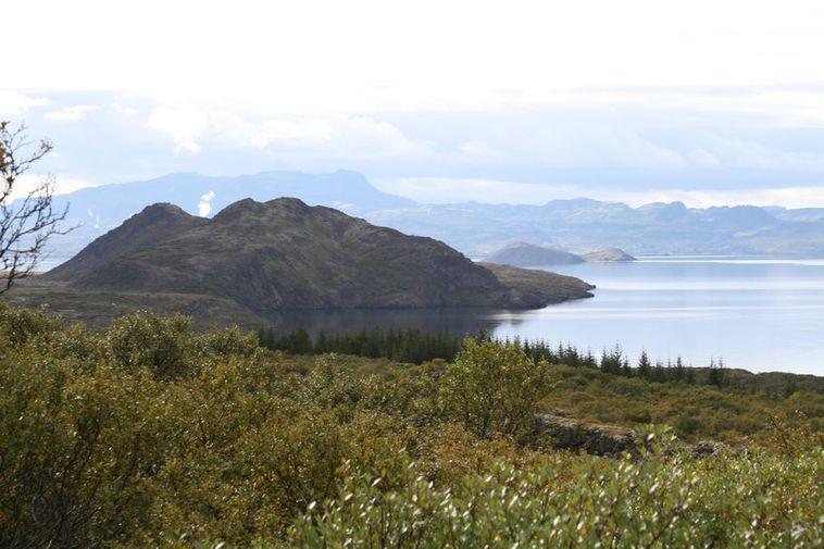 Lake Þingvallavatn.