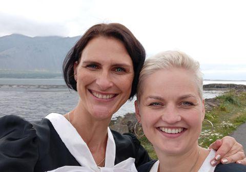 Rithöfundurinn og hlaðvarpsstjórnandinn Sigrún Elíasdóttir fjallar um hörmungar Íslandssögunnar í hlaðvarpinu Myrka Ísland ásamt Önnu Dröfn.