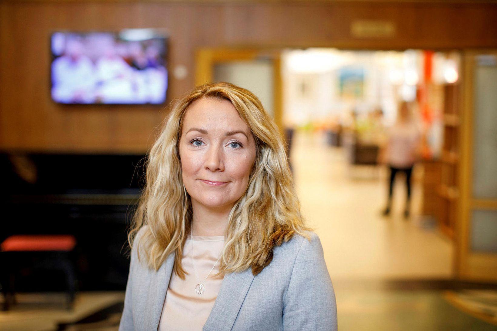 Eybjörg Hauksdóttir, framkvæmdastjóri SFV.