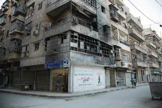 Frá Aleppo í Sýrlandi.