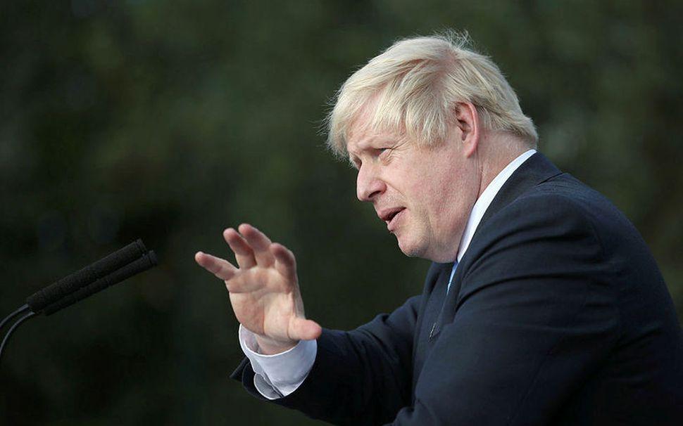 Boris Johnson hefur sagt að hann vilji fremur liggja dauður ...