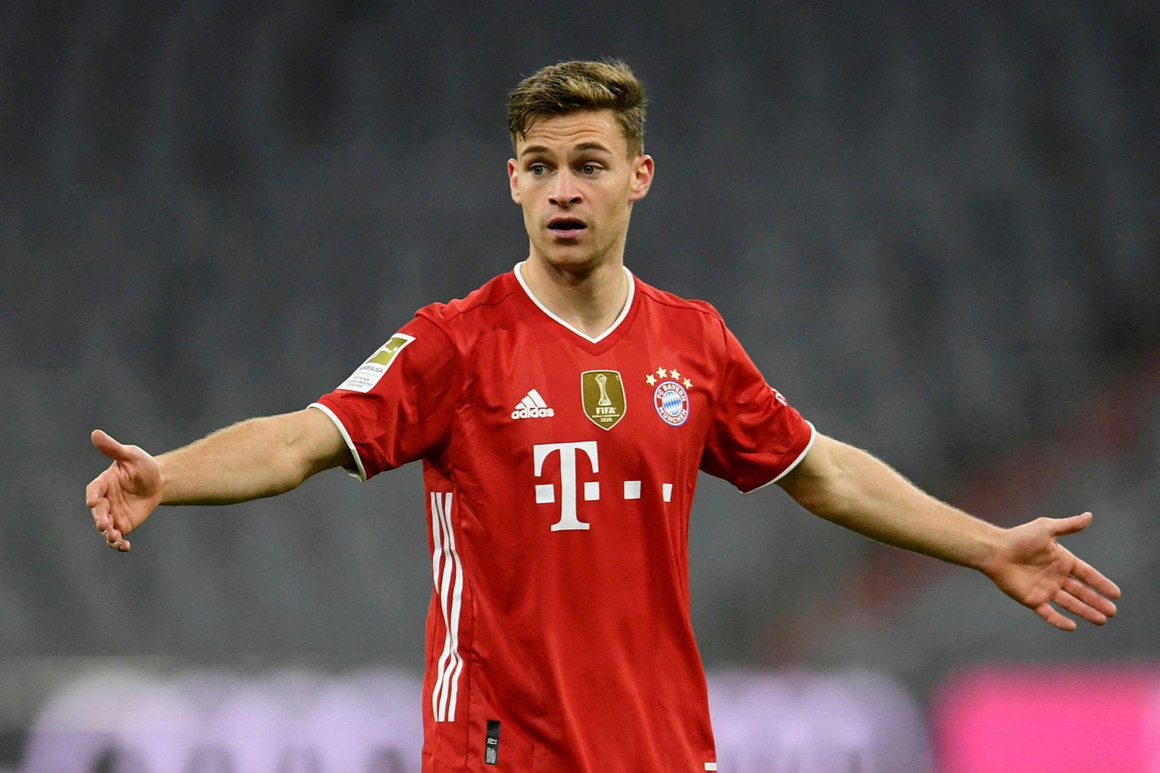 Joshua Kimmich og félagar hans í Bayern München eru Þýskalandsmeistarar, …