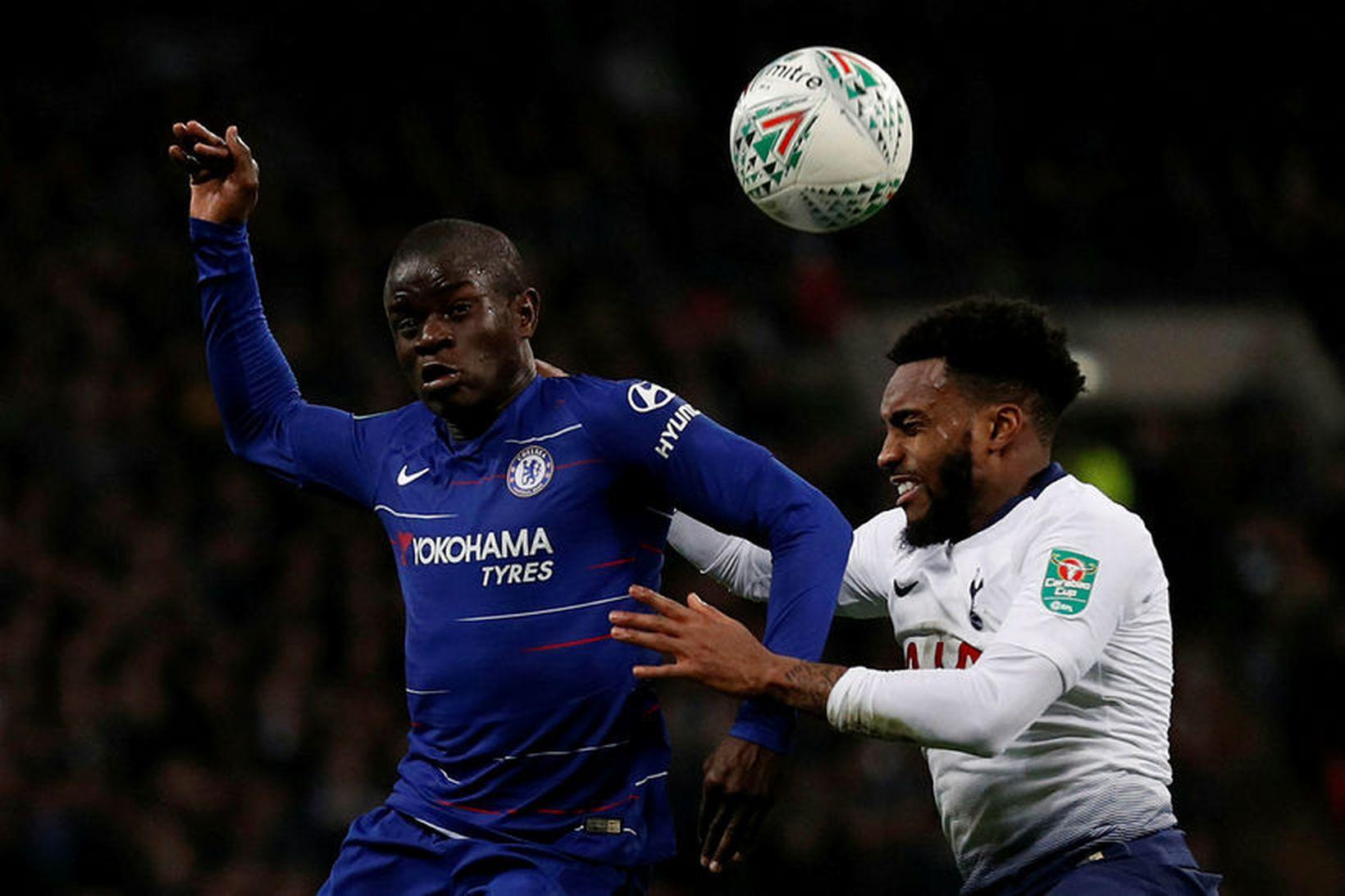 N'Golo Kante er lykilmaður hjá Chelsea.