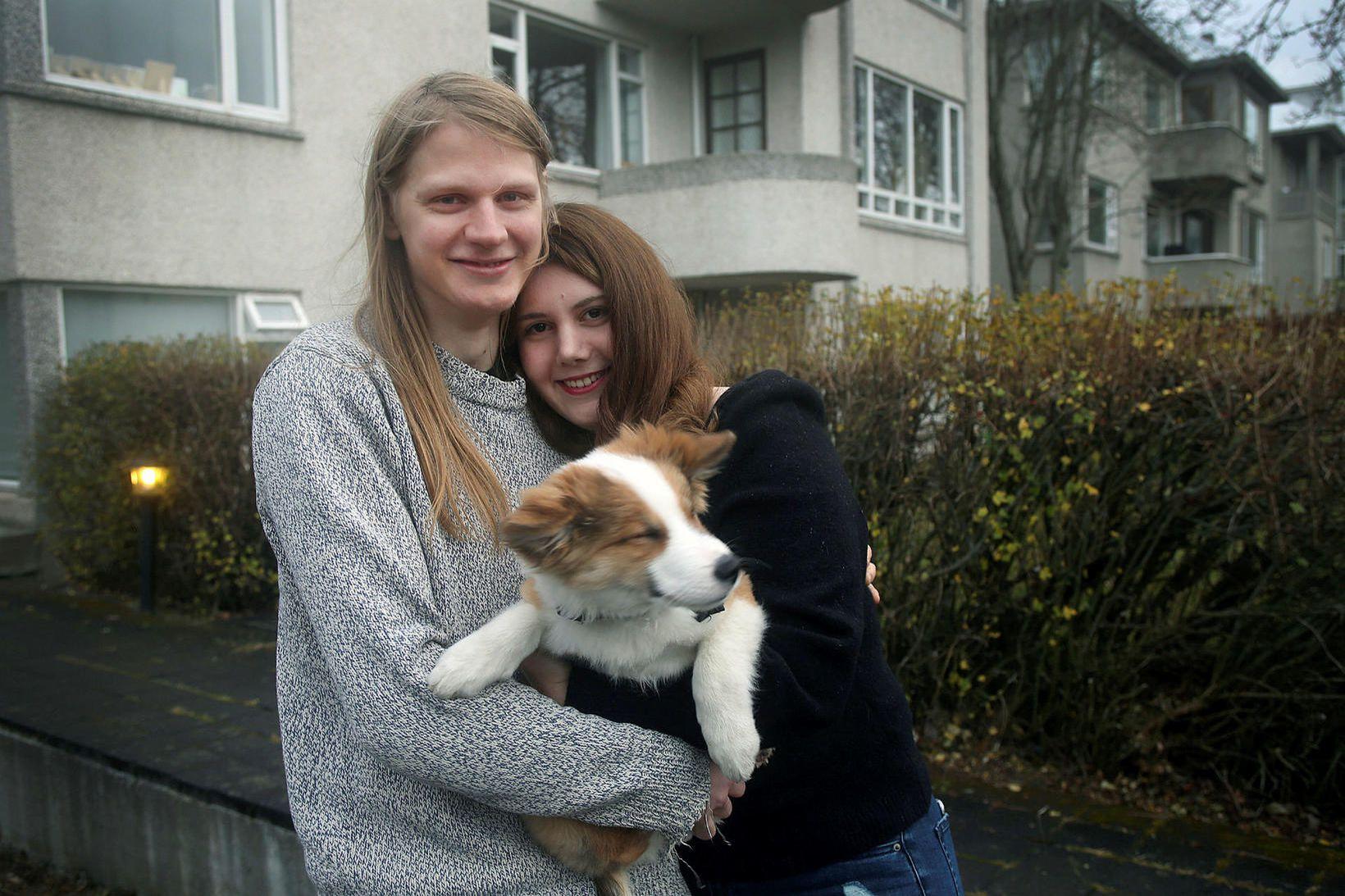 Guðjón Sveinsson og Atcha Eriskin.