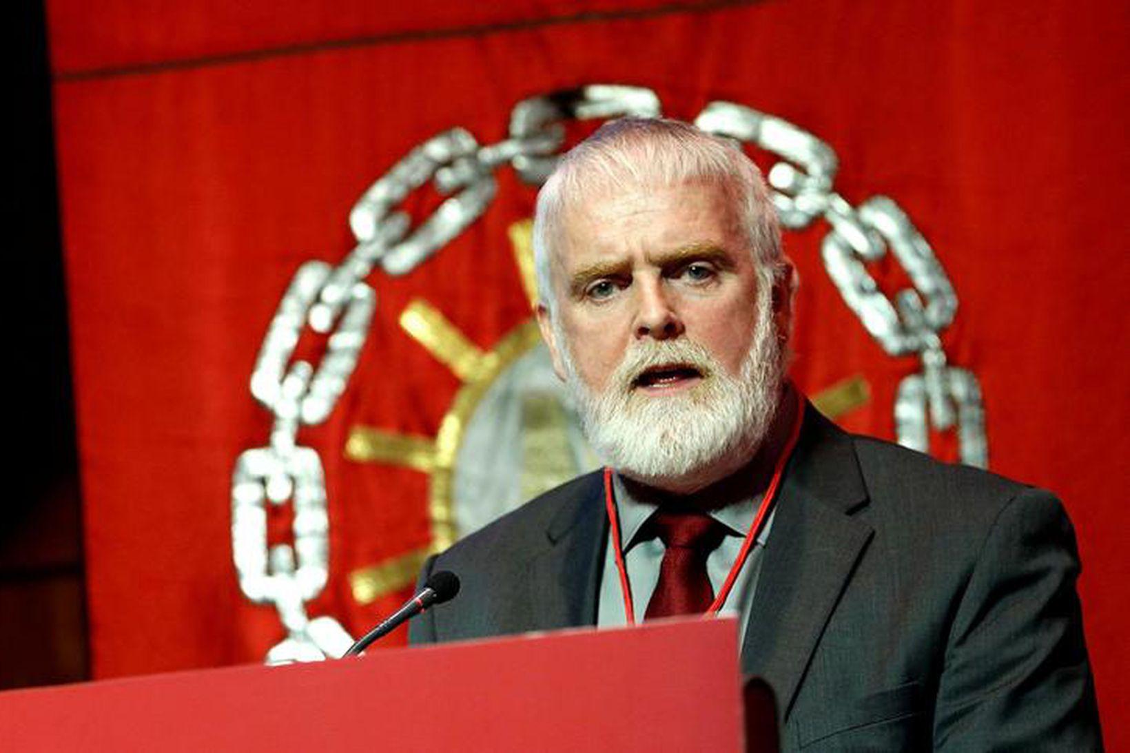 Gylfi Arnbjörnsson, fyrrverandi forseti ASÍ.