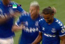 Frábær byrjun Everton - svona var sigurmarkið (myndskeið)