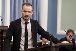 Róbert Marshall, þingmaður Samfylkingarinnar.