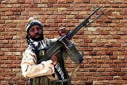 Abubakar Shekau árið 2018.