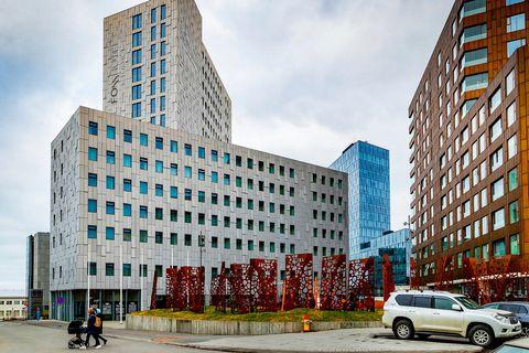 Fosshótel, Reykjavík, has been converted into a quarantine hotel.