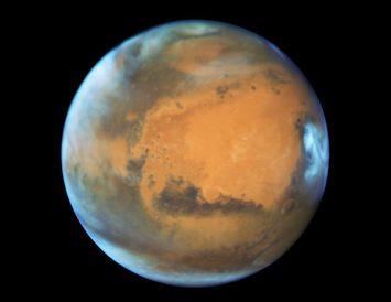 Reikistjarnan Mars.