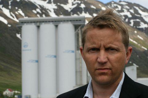 Gunnþór Ingvason, forstjóri Síldarvinnslunnar, vísar ásökunum um að sjómenn fyrirtækisins séu hlunnfarnir til föðurhúsanna.