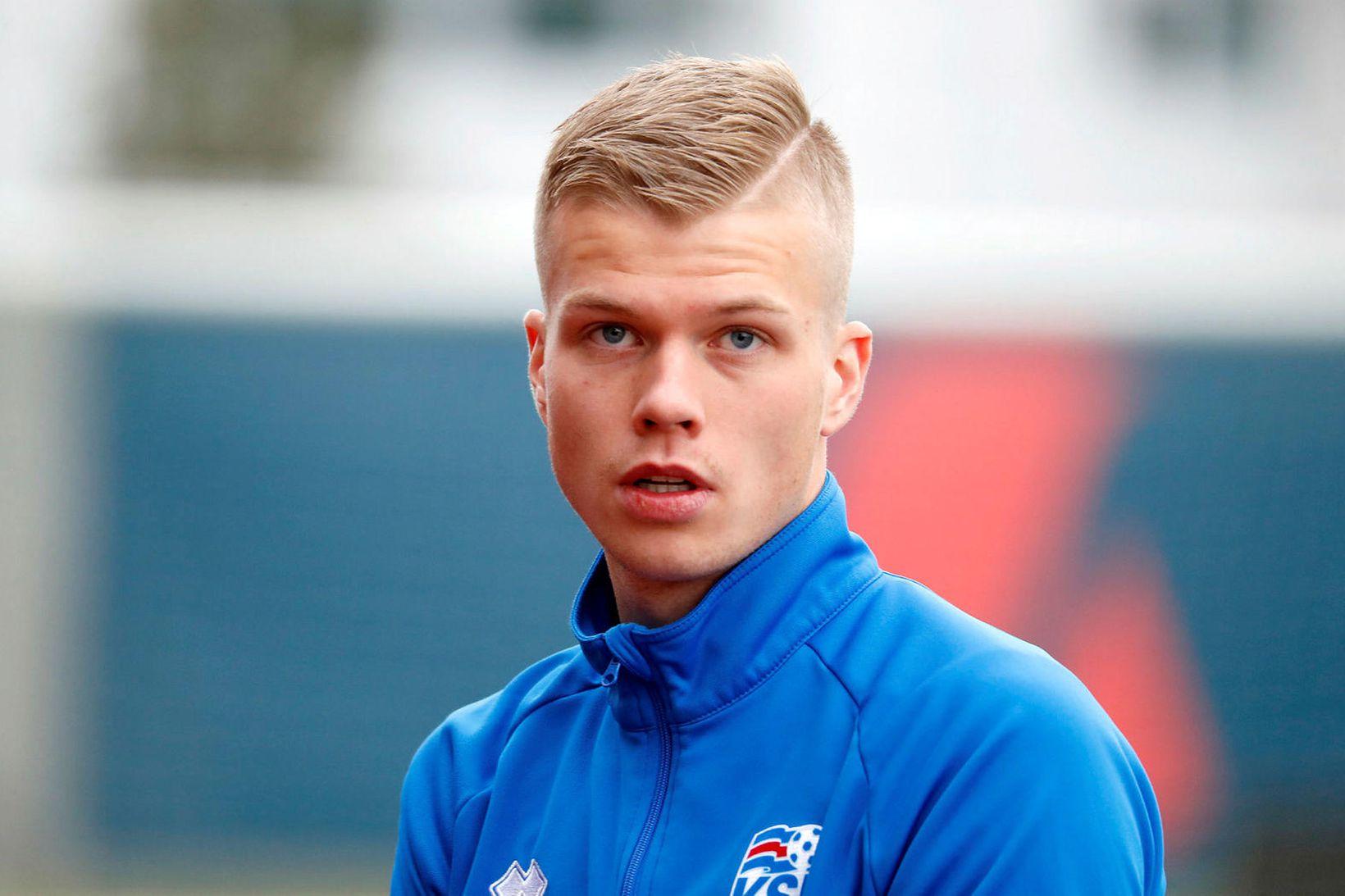 Samúel Kári Friðjónsson.