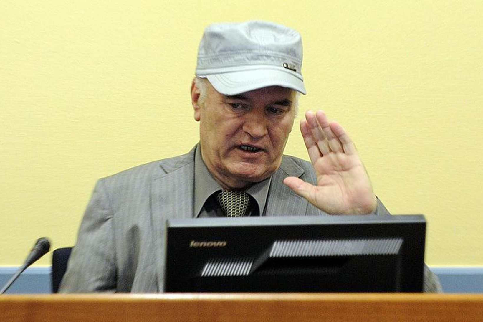 Bosníu-Serbinn Ratko Mladic.