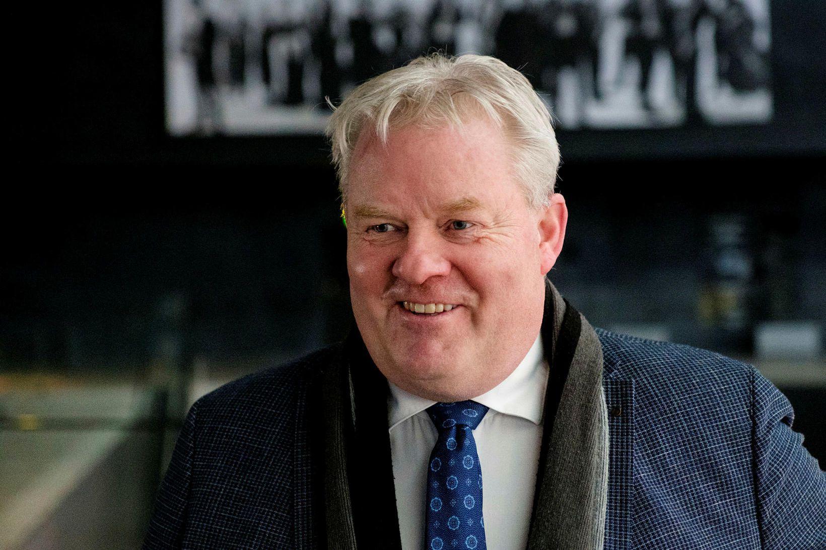 Sigurður Ingi Jóhannsson, sveitarstjórnar- og samgönguráðherra.