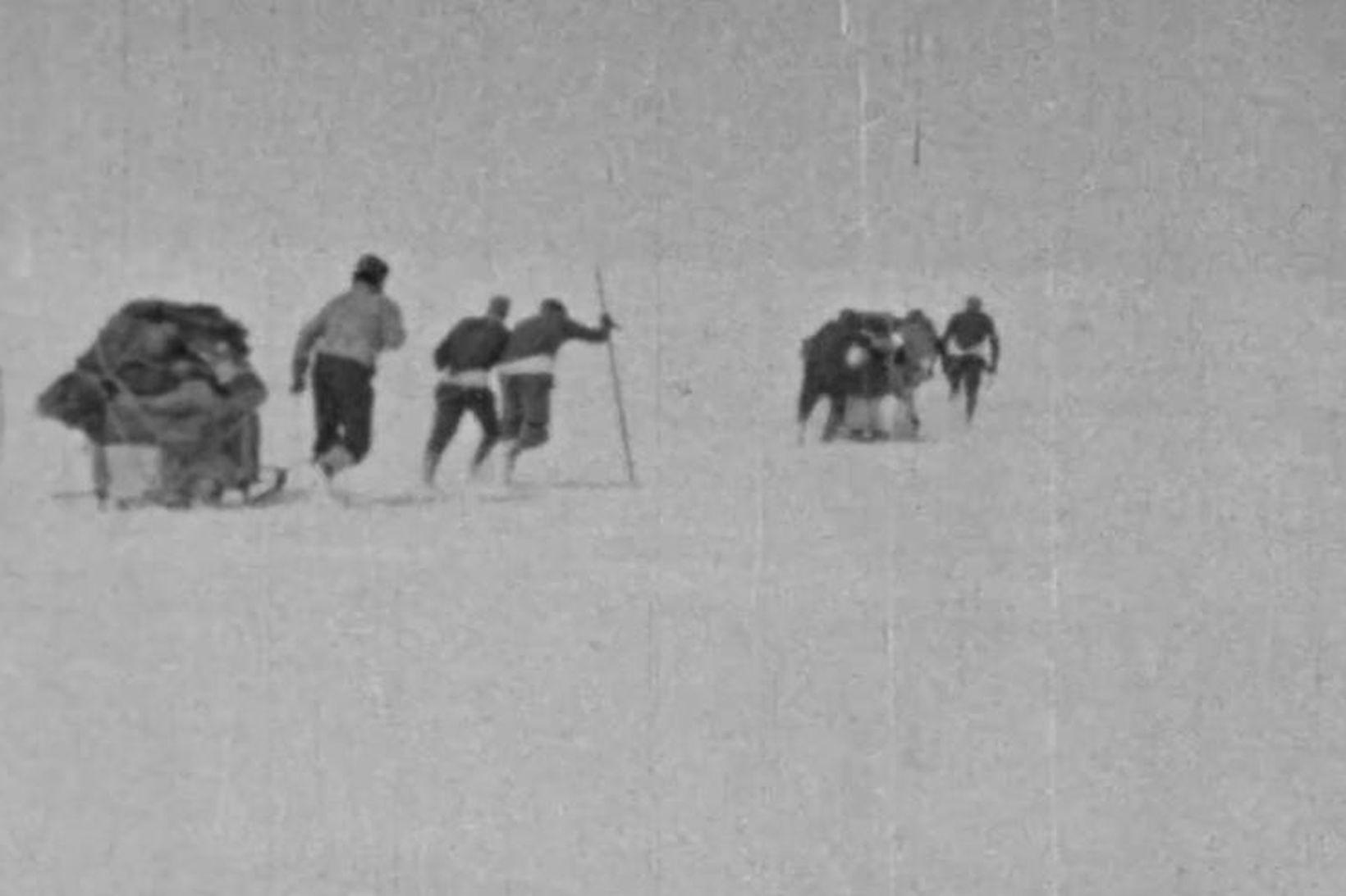 Leiðangur á Vatnajökli árið 1936.
