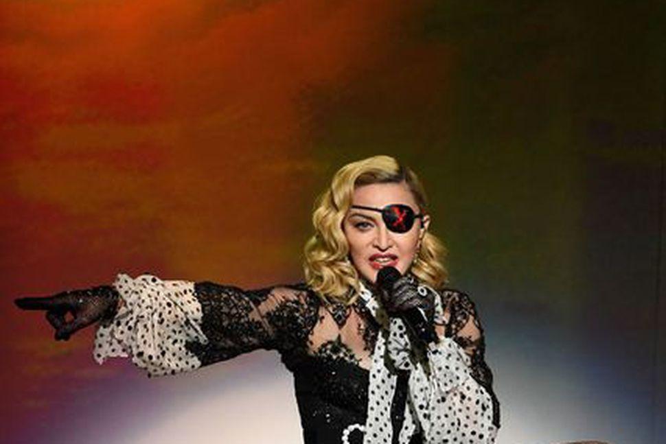 Madonna sýnir kunnuglega takta á Billboard tónlistarverðlaunahátíðinni í maí á ...