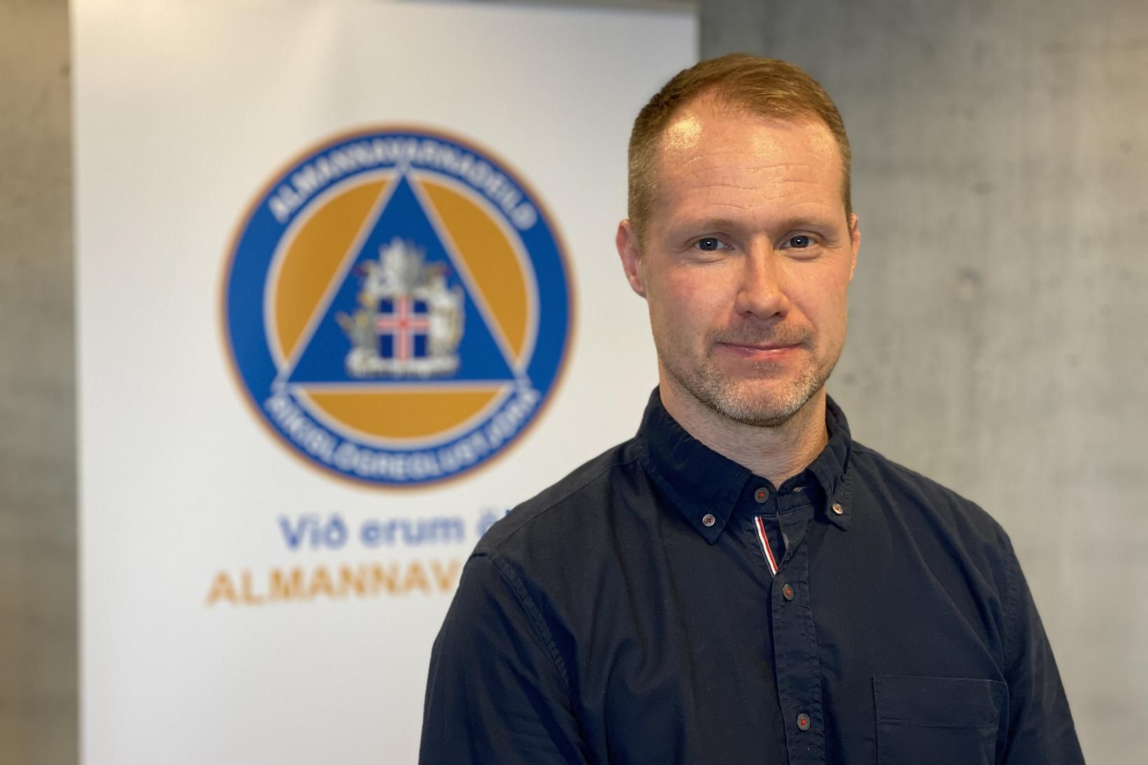 Jóhann Björn Skúlason, yfirmaður smitrakningarteymis alamannavarna.