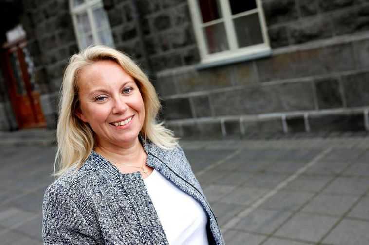 Iceland's Minister of Justice, Sigríður Á Andersen.