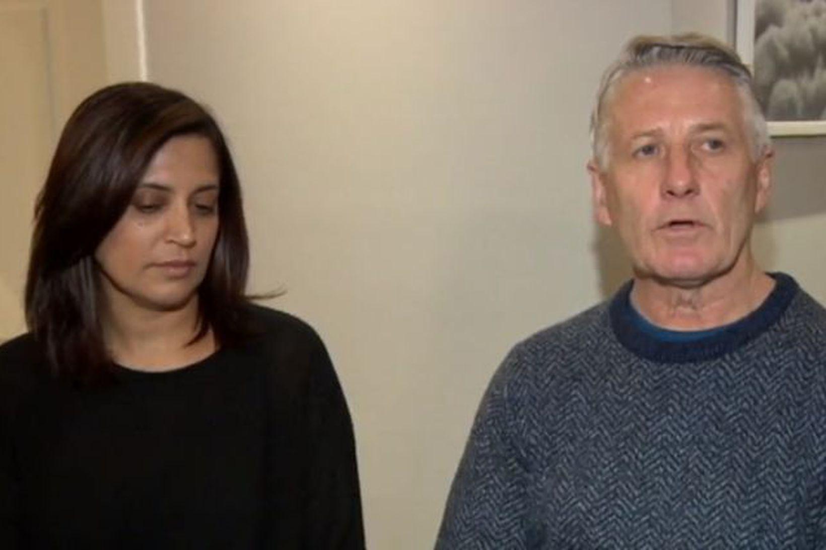 Hjónin David og Gail Wilson frá Ástralíu.