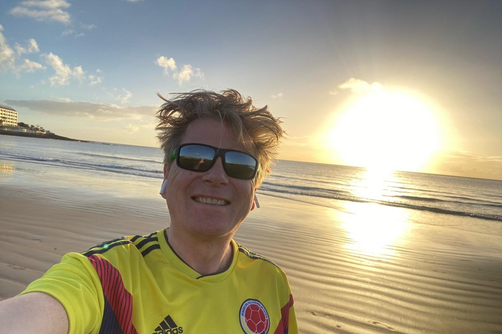 Eiríkur Bergmann stundar fræðistörf á Tenerife.