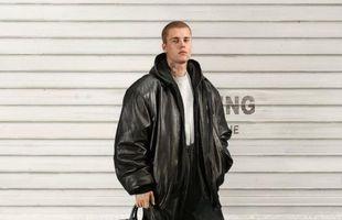 Bieber fer fyrir nýjustu línu Balenciaga