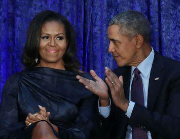 Hjónin Michelle og Barack Obama skipuleggja stefnumótakvöld fram í tímann.