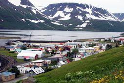 Íslandssaga hf. rekur fiskverkun á Suðureyri.