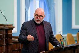 Logi Einarsson, formaður Samfylkingarinnar.