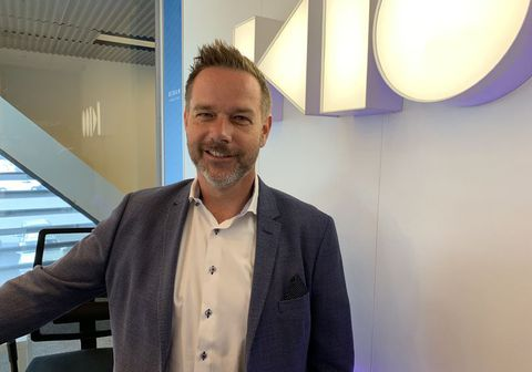Jón Trausti Ólafsson forstjóri Öskju.