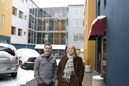 Gunnar Guðjónsson og Borghildur Símonardóttir.