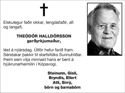 Theódór Halldórsson