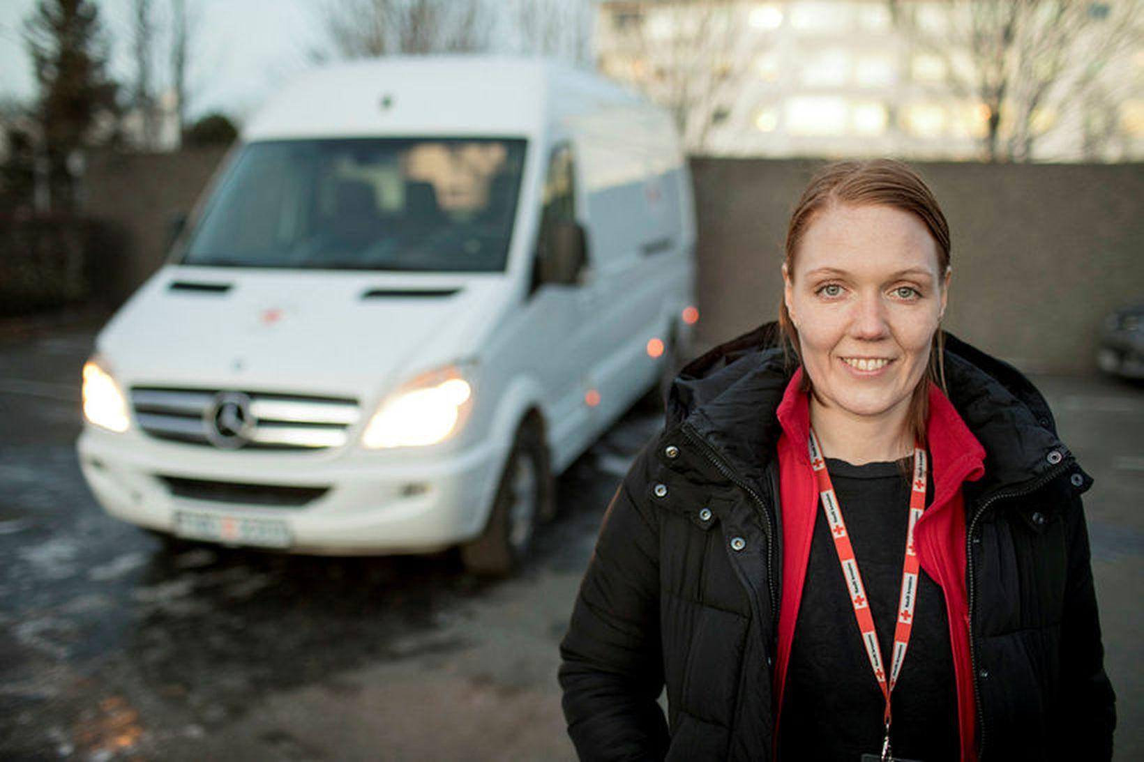Svala Jóhannesdóttir var verkefnisstýra Frú Ragnheiðar sem er skaðaminnkandi verkefni …