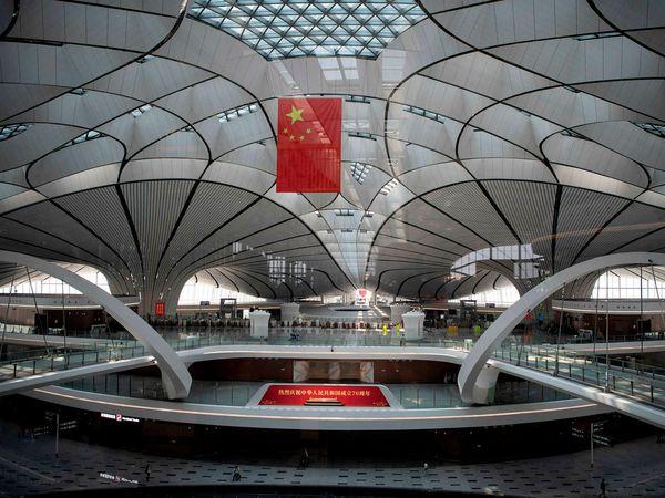 From Beijing Daxing International Airport.